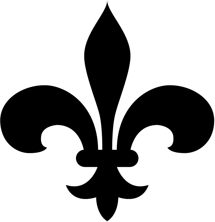 Small fleur de lis clipart image freeuse library Free Fleur De Lis Clip Art Pictures - Clipartix image freeuse library