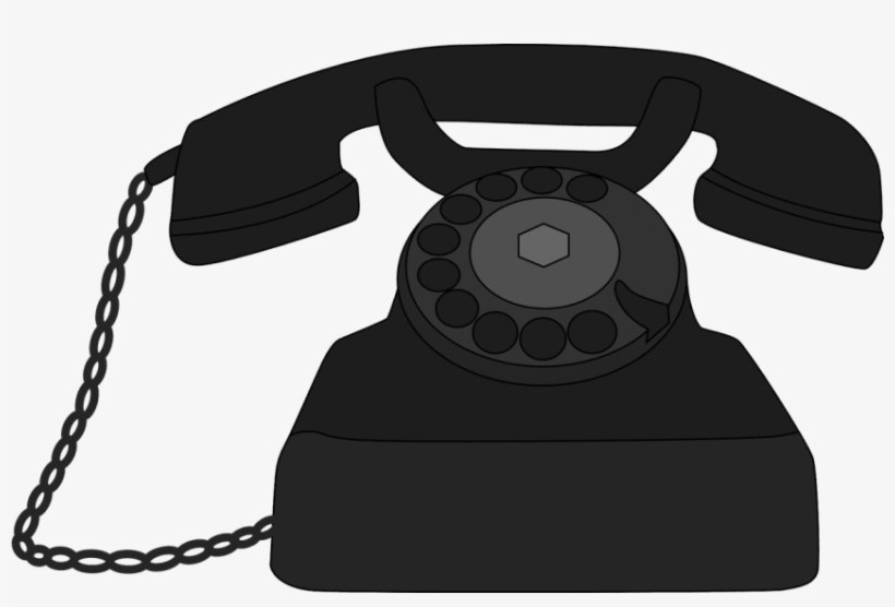 Black clipart old telephone png clip art royalty free Free Png Telephone Png Pics Png Images Transparent - Old Phone ... clip art royalty free