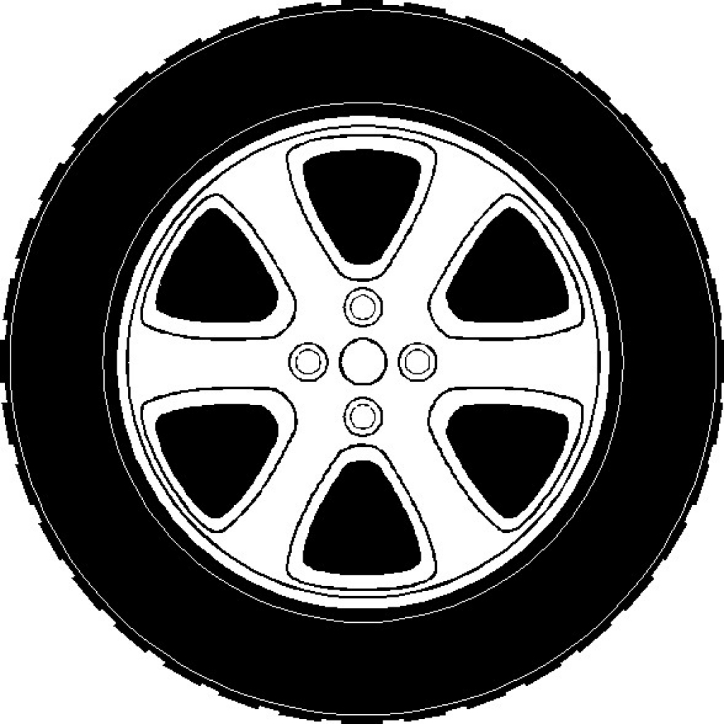Black clipart wheel picture royalty free Wheel and tire clipart Easy to Use tire and wheel clip art 10tire ... picture royalty free
