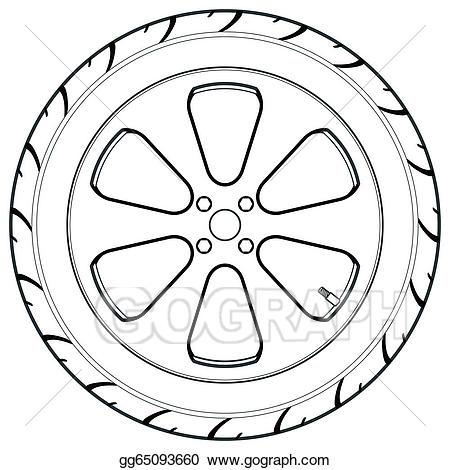 Black clipart wheel vector black and white download Wheel clipart black and white 2 » Clipart Portal vector black and white download