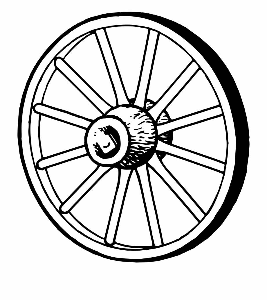 Black clipart wheel graphic royalty free library Wagon Wheel Clipart - Wagon Wheel Clipart Black And White ... graphic royalty free library