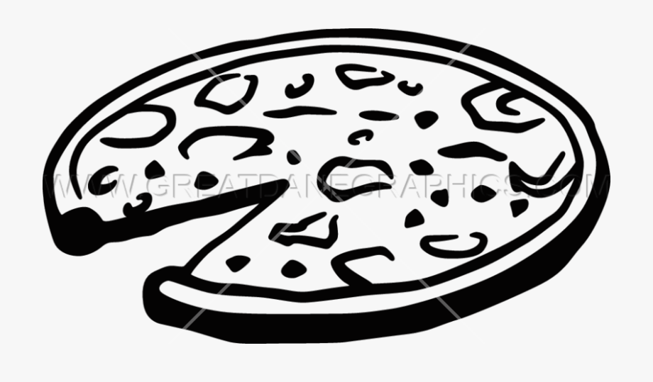 Black cliparts banner stock Png Pizza Black And White - Black And White Pizza Clip Art ... banner stock