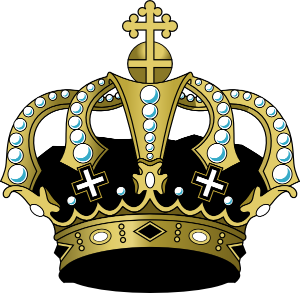 Black crown clipart svg Black Crown Clip Art at Clker.com - vector clip art online, royalty ... svg