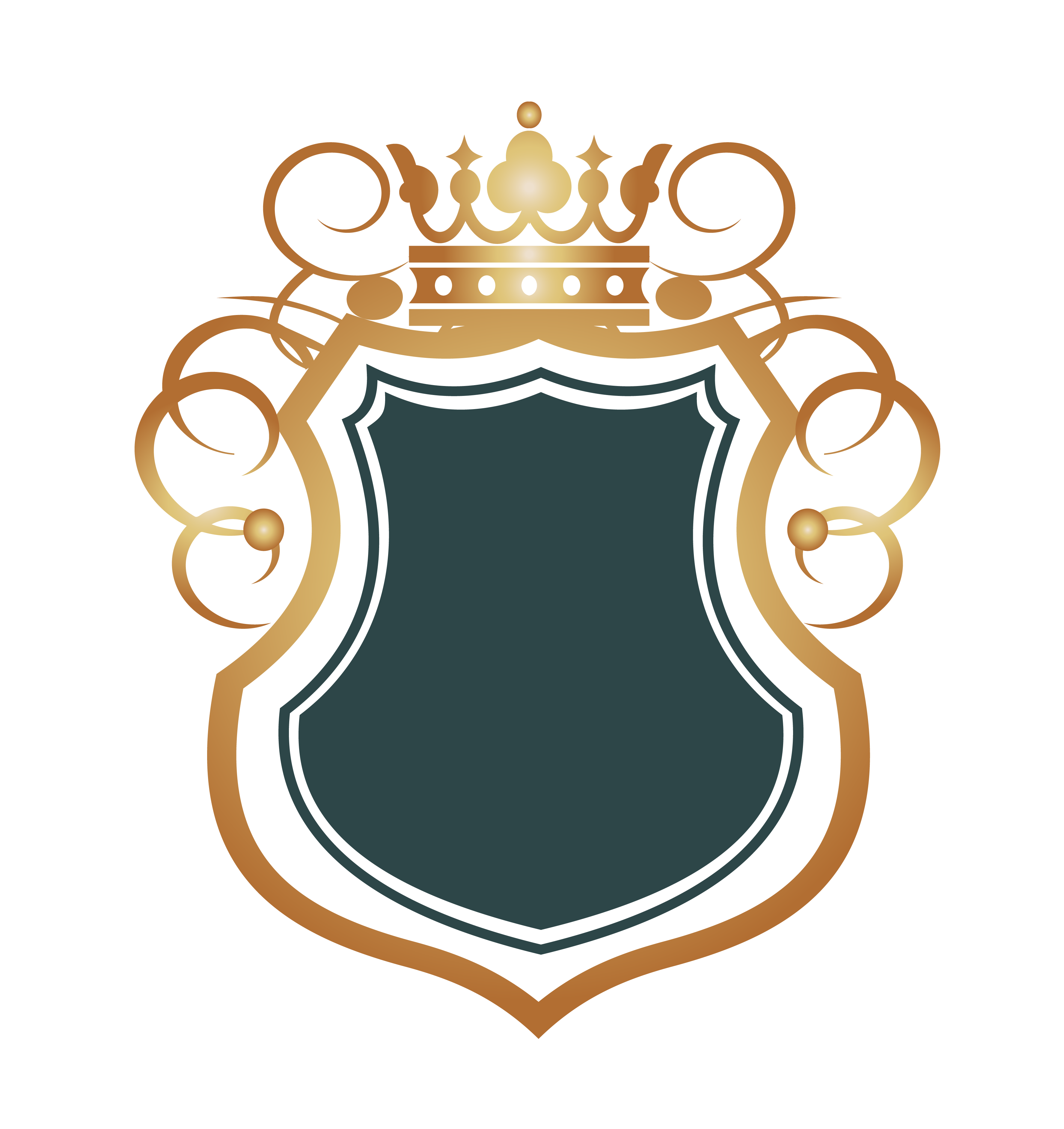 Black crown with shield clipart image royalty free Euclidean vector Computer file - Border yellow crown 3550*3767 ... image royalty free