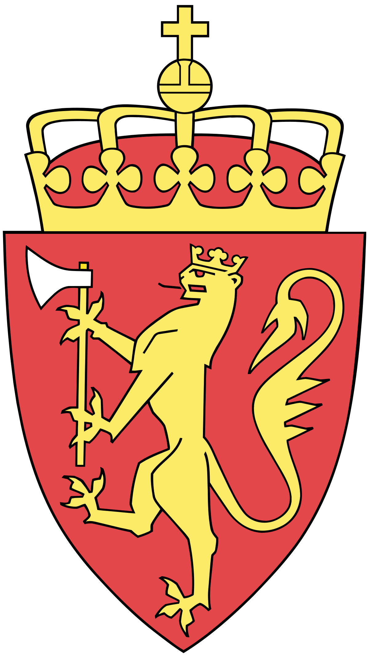 Coat of arms of Norway - Wikipedia vector transparent library