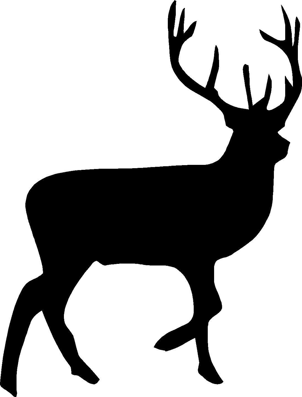 Black deer clipart royalty free Baby Deer Clipart Black And White - Clip Art Library royalty free