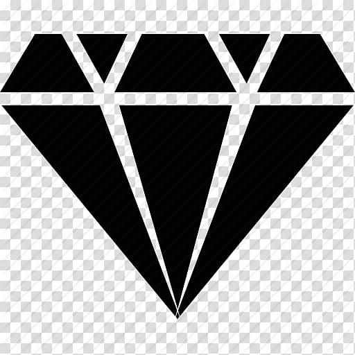 Black diamond clipart