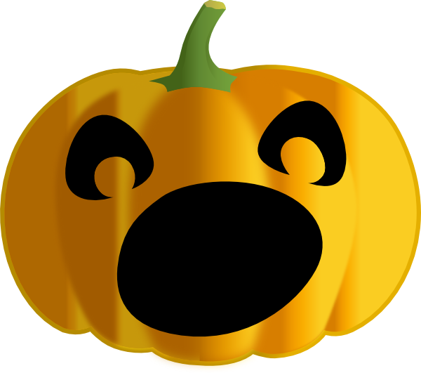 Pumpkin shape clipart image picture free stock Dark Pumpkin Clip Art at Clker.com - vector clip art online, royalty ... picture free stock