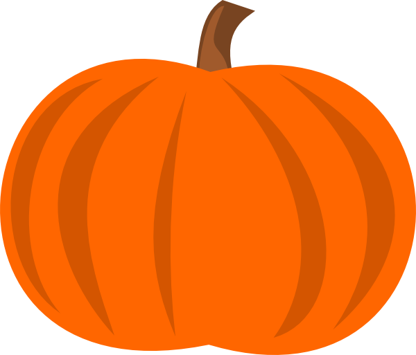 Pumpkin muffin clipart vector royalty free Pumpkin Clip Art at Clker.com - vector clip art online, royalty free ... vector royalty free