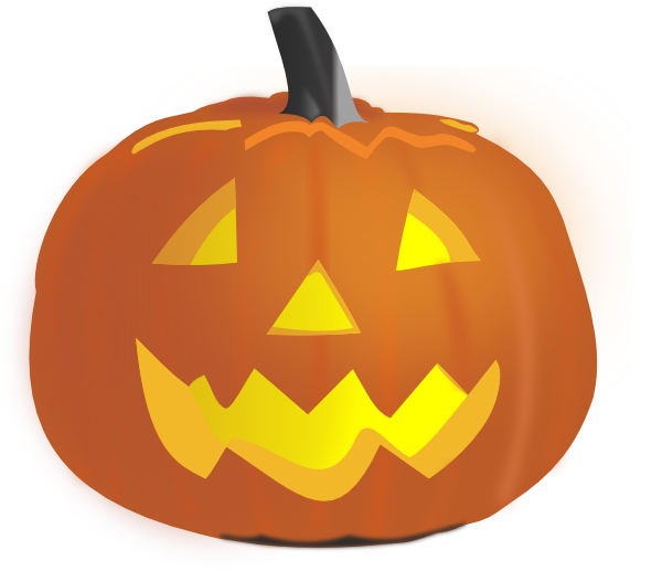 Scared pumpkin clipart clipart free stock Pumpkin Clip Art at Clker.com - vector clip art online, royalty free ... clipart free stock