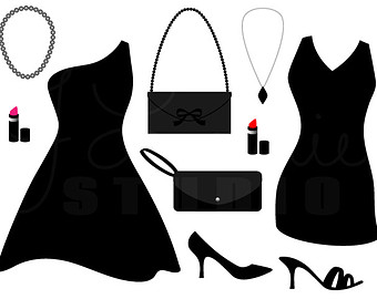 Black dress and pearls clipart clip art Free Blank Dress Cliparts, Download Free Clip Art, Free Clip Art on ... clip art