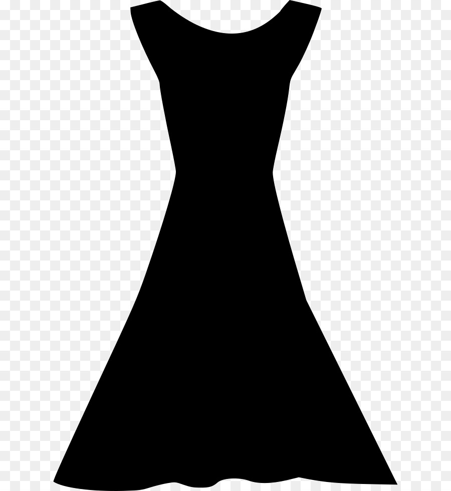 Black dress silhouette clipart clip art freeuse library Black Line Background png download - 688*980 - Free Transparent ... clip art freeuse library