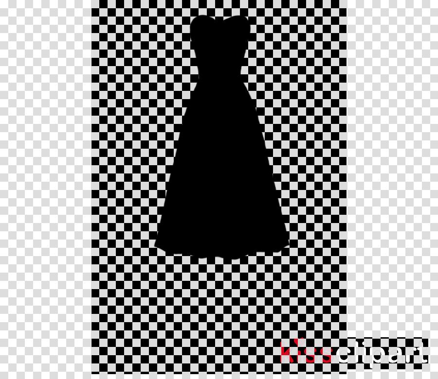 Black dress silhouette clipart jpg free download White Day clipart - Dress, Silhouette, Clothing, transparent clip art jpg free download