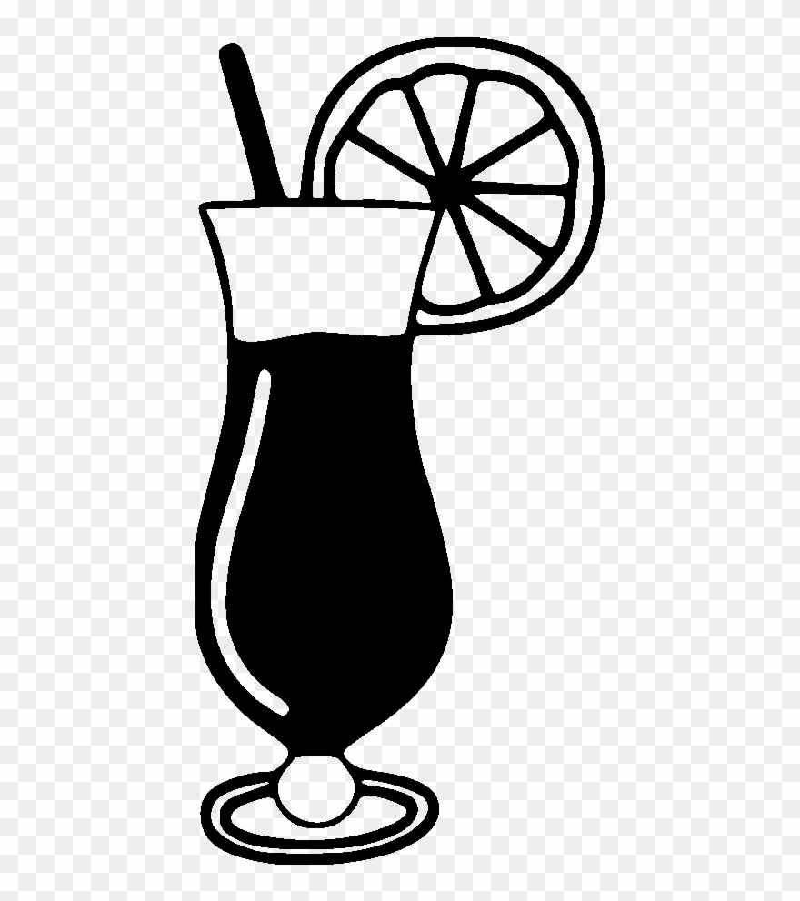 Black drink clipart transparent Hurricane Drink Clipart - Png Download (#3614545) - PinClipart transparent