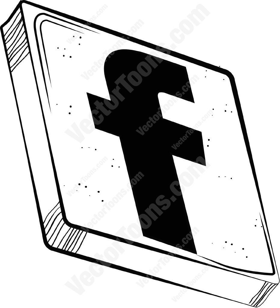 Black facebook clipart graphic freeuse download Black facebook clipart - ClipartFest graphic freeuse download