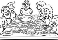 Black family dinner clipart png Family dinner clipart black and white » Clipart Portal png