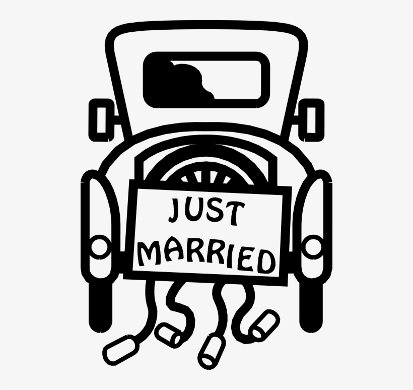 Black family in car clipart picture free Family Tree Clip Art Black And White Download - Just Married Car ... picture free