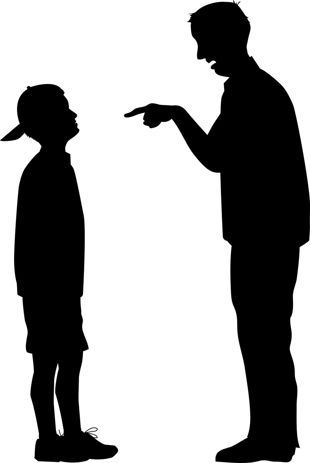 Black father tten son clipart graphic free Father And Teenage Son Clipart graphic free