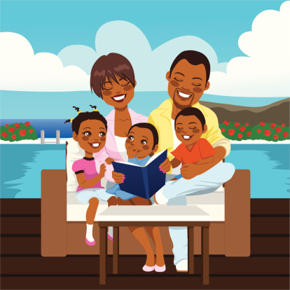 Black father with kids clipart png Free Black Parents Cliparts, Download Free Clip Art, Free Clip Art ... png