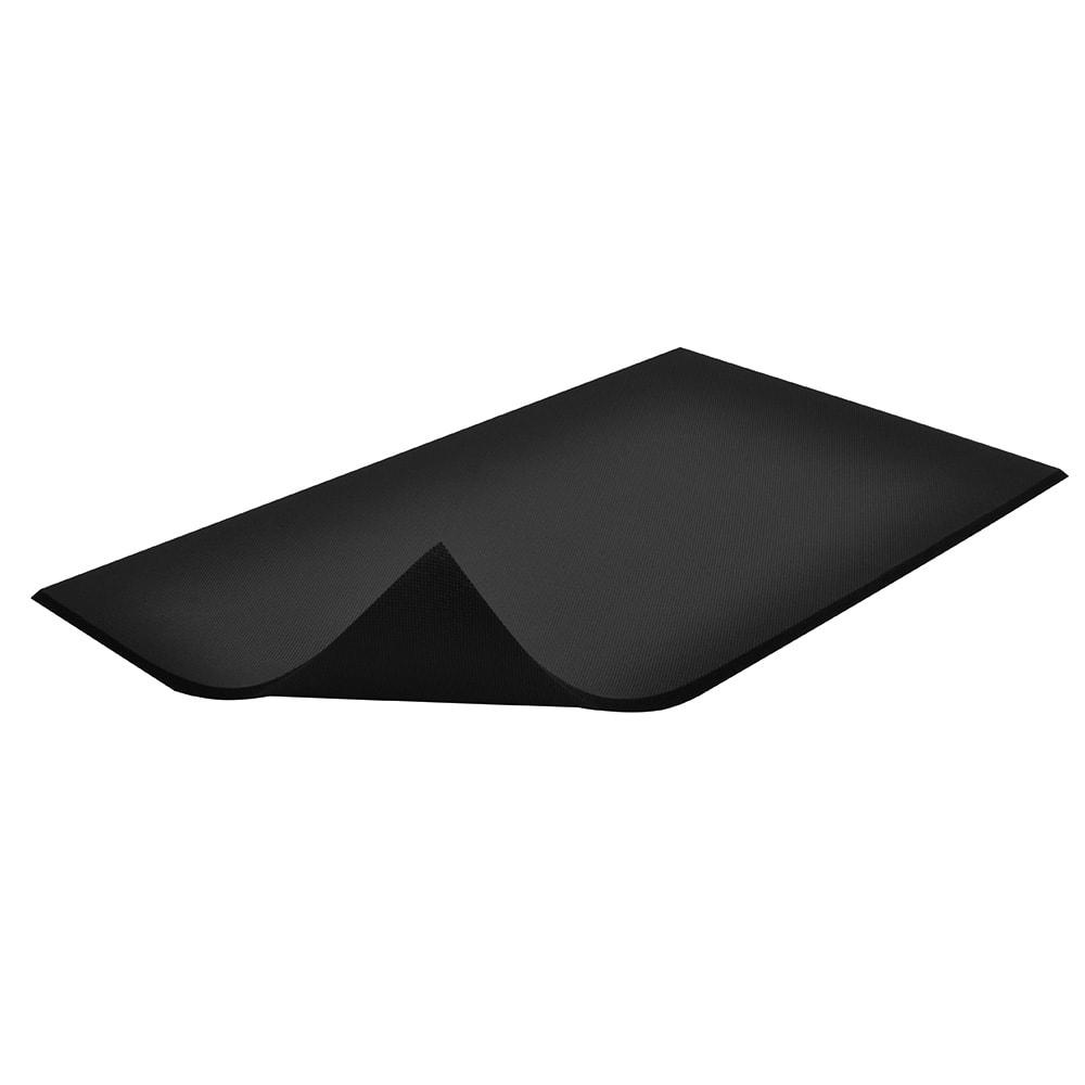 Black floor mats clipart clipart free Notrax T17S0035BL Superfoam Comfort Floor Mat, 3 x 5 ft, 5/8\