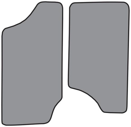 Black floor mats clipart clip art black and white stock 1994-2004 Chevrolet S10 Floor Mat 2pc (FM100F) clip art black and white stock