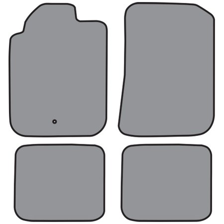 Black floor mats clipart image transparent stock ACC 17770 801 2006-2011 Chevrolet HHR Floor Mat 4pc Cutpile (P526, P526R)  Black image transparent stock