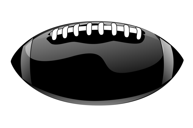 Black football clipart graphic black and white library Free Football Clipart Images Black And White Photos【2018】 graphic black and white library