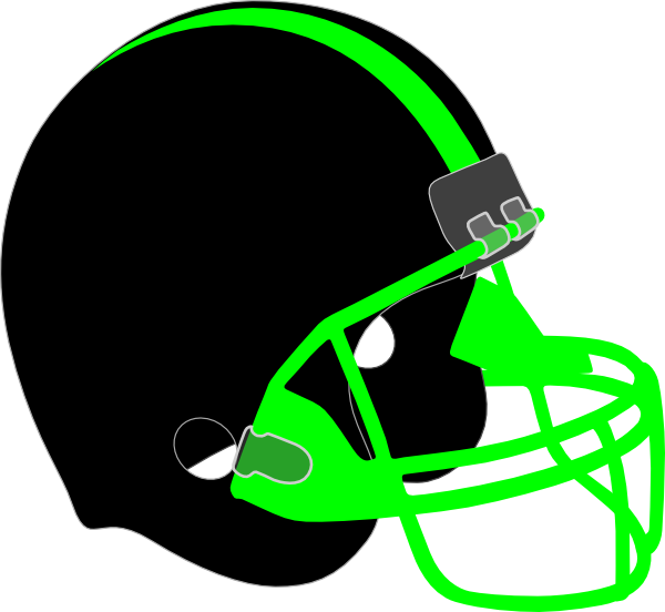 Clip art at clker. Football helmet clipart black