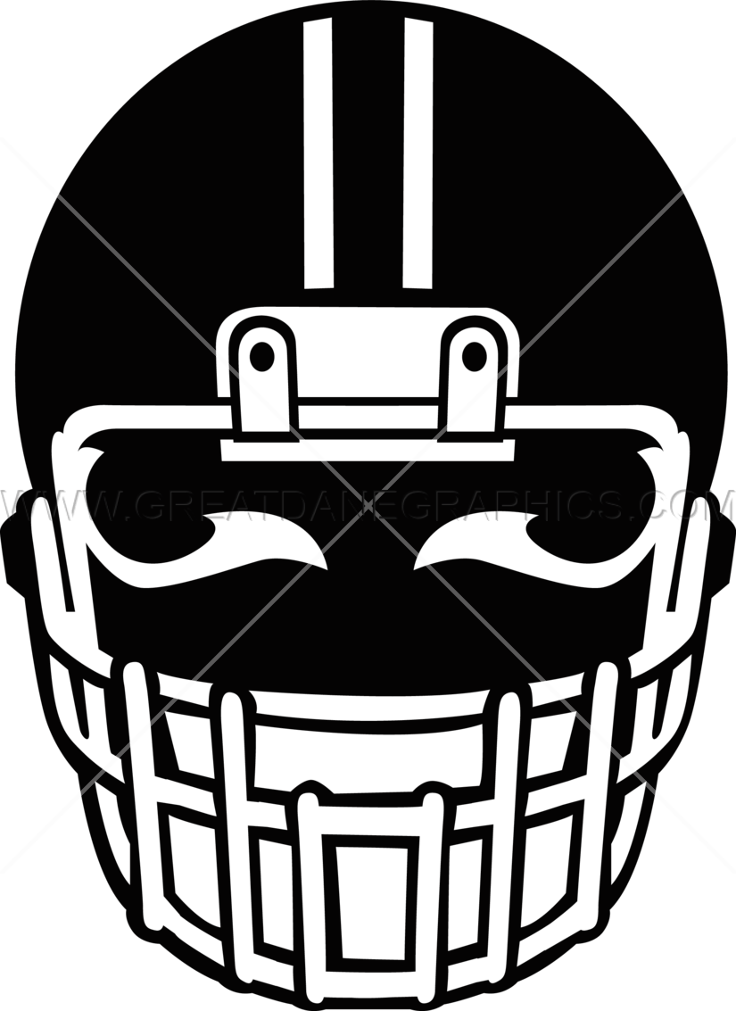 Football helmet clipart black. With eyes production ready