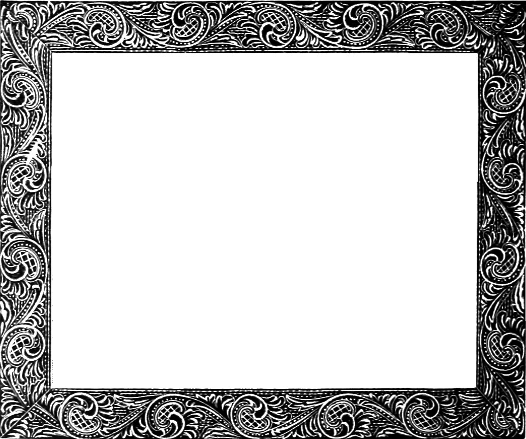 Black frame thin clipart clip art library Black clipart frame - ClipartFest clip art library
