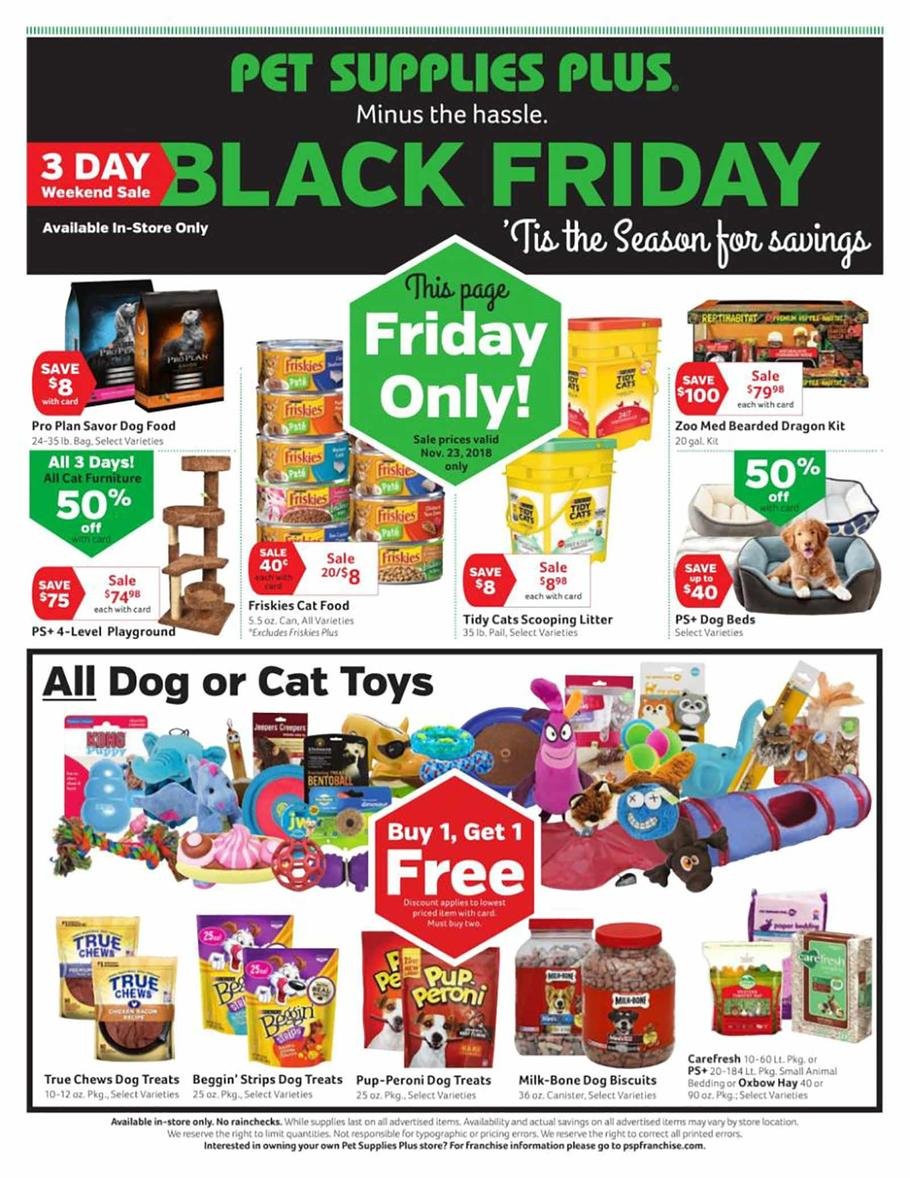 Walmart christmas toy ad clipart banner transparent Pet Supplies Plus Black Friday 2019 Ad, Deals and Sales banner transparent