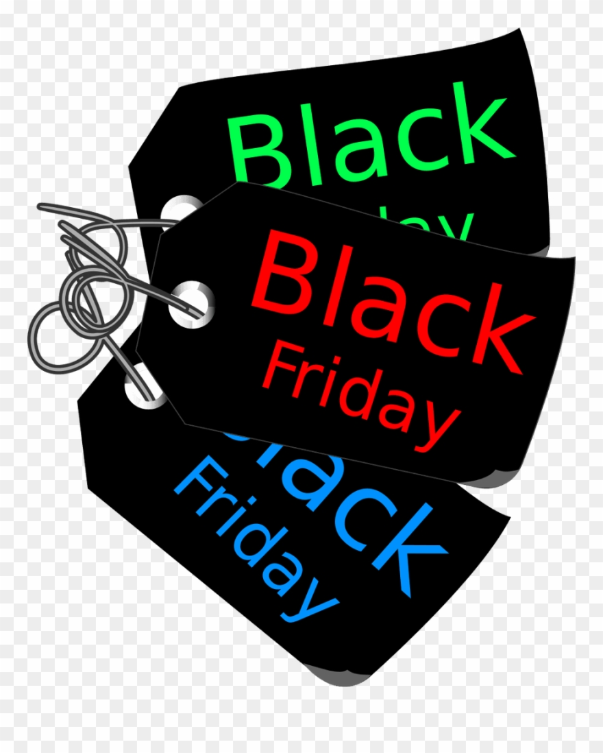 Black friday deals free clipart black and white Banner Library Stock Transparent Background Png Free - Black Friday ... black and white