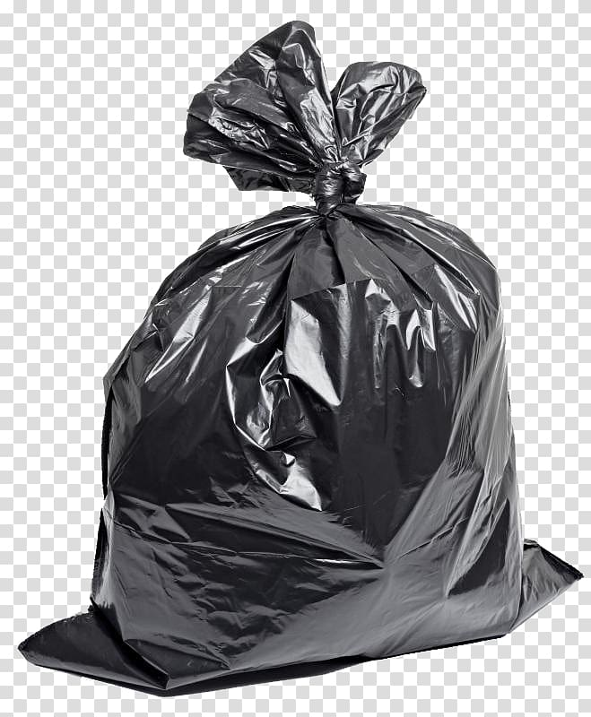 Black bags of garbage clipart png black and white download Gray garbage bag, Plastic bag Bin bag Rubbish Bins & Waste Paper ... png black and white download