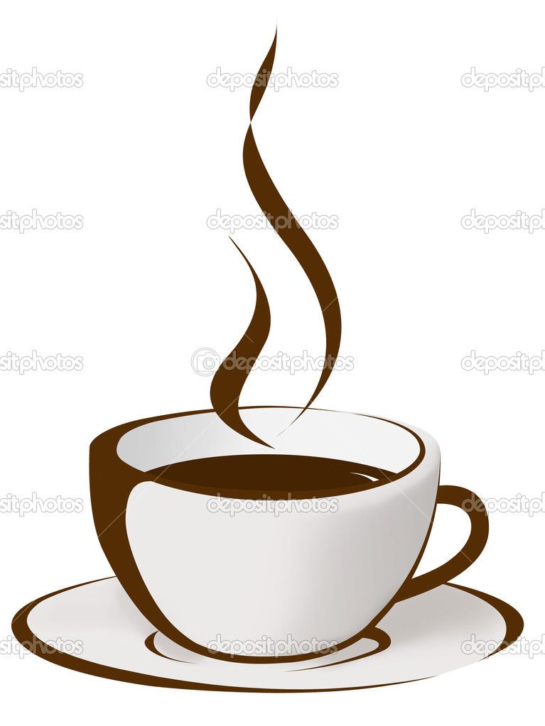 Black girl drinking coffee red cup clipart