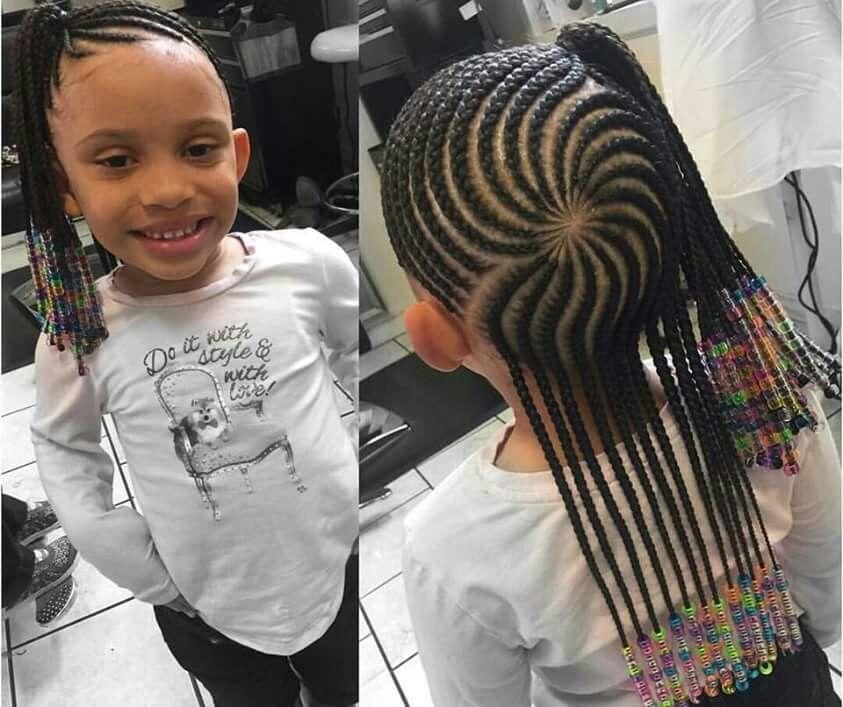 Black girl hairstyles braids clipart royalty free Cornrowed half up half down   braids   Kids cornrow hairstyles ... royalty free
