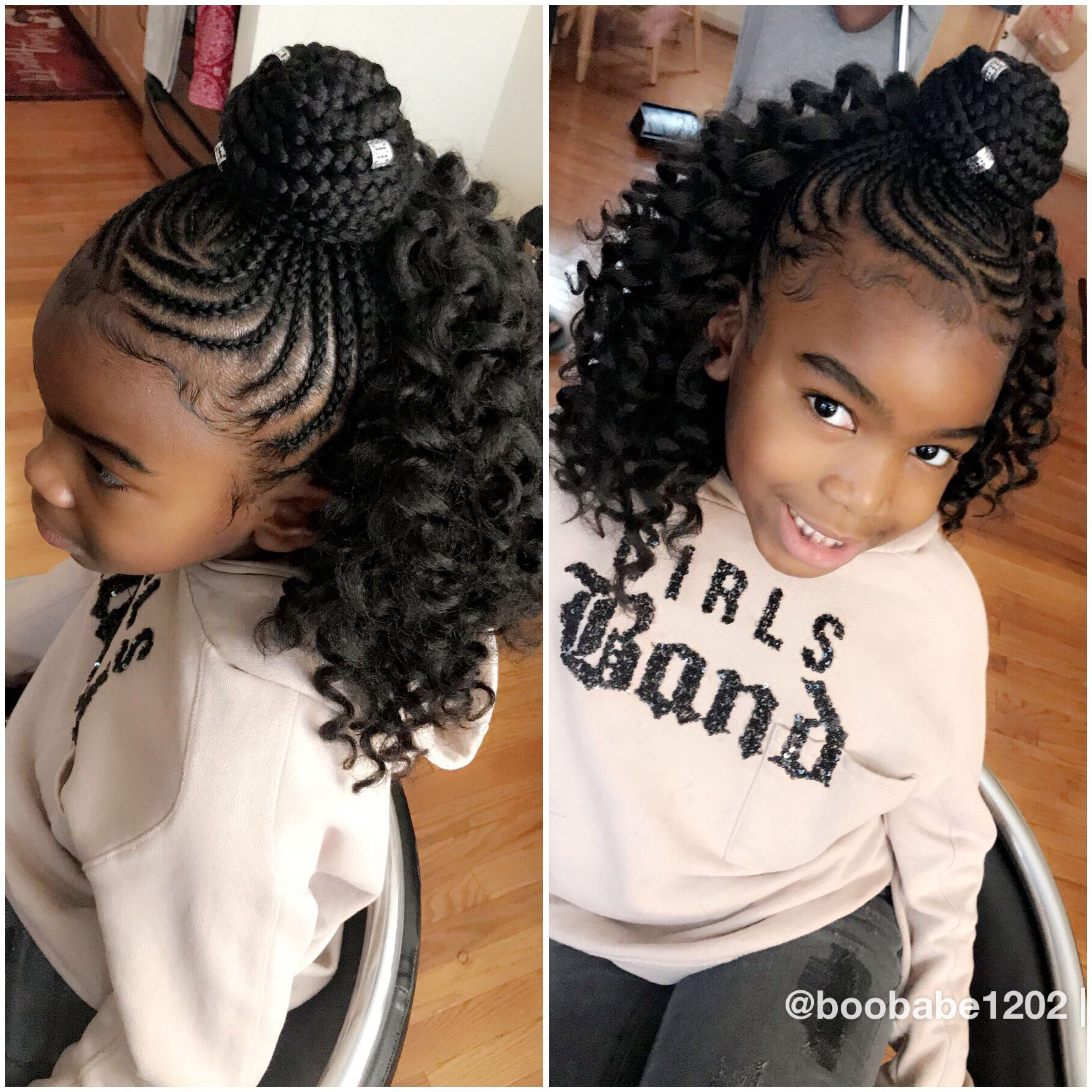 Black girl hairstyles braids clipart banner royalty free library Hairstyles | Girls Hair & Fashions | Kids braided hairstyles, Kid ... banner royalty free library