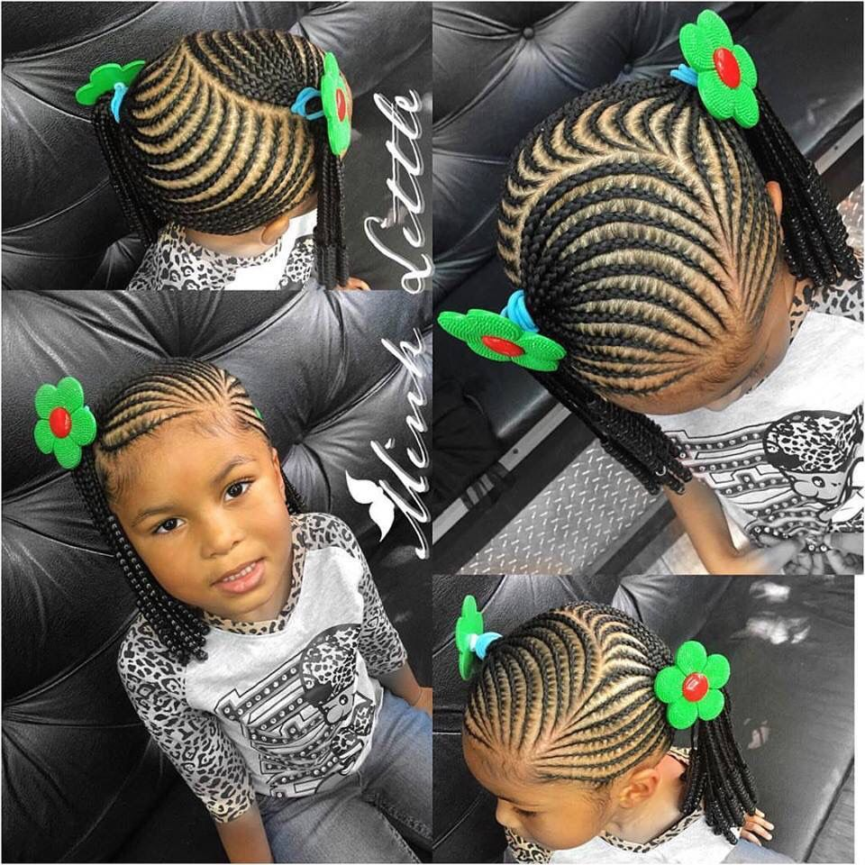 Black girl hairstyles braids clipart image free stock Little girl braiding styles | Hair | Little girl braid hairstyles ... image free stock