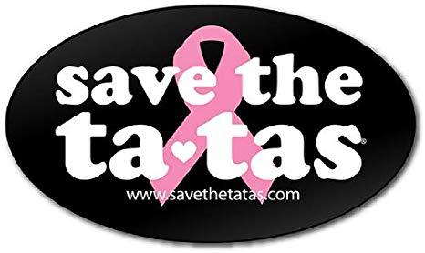 Black girl save the tatas clipart clip art free stock save the ta-tas Bumper Magnet - Black clip art free stock