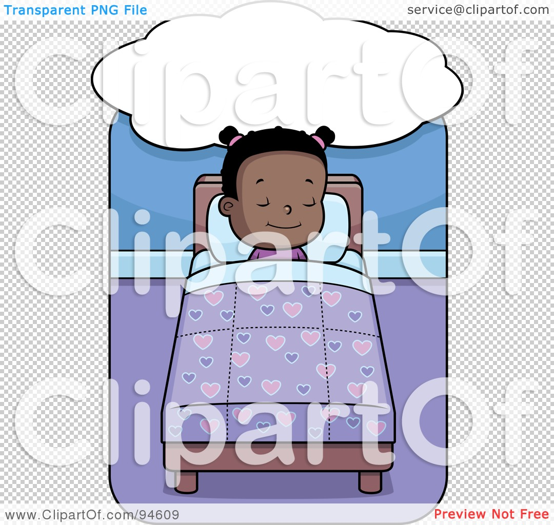 Black girl sleeping clipart picture transparent library Black Girl Sleep Clipart #95131 - Clipartimage.com picture transparent library