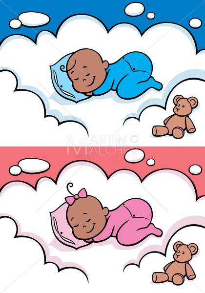 Black girl sleeping clipart svg black and white library Sleeping Baby Black svg black and white library