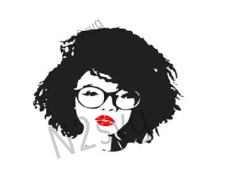 Black girl with sunglasses clipart svg transparent download Afro clipart glass svg - 36 transparent clip arts, images and ... svg transparent download