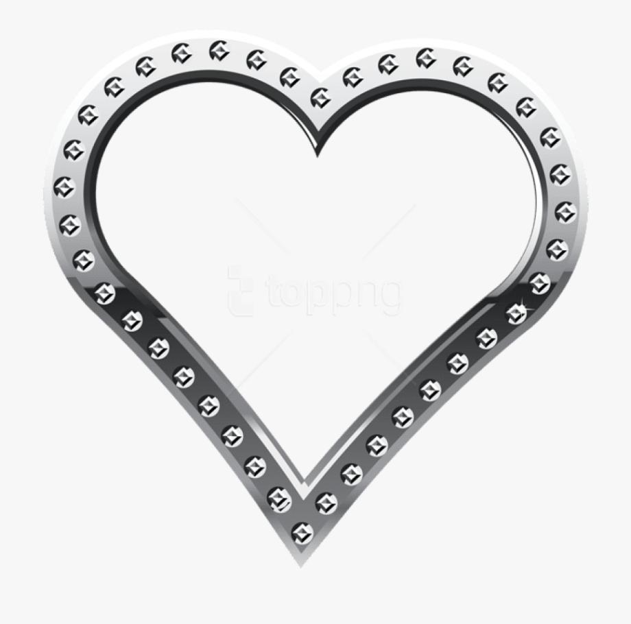 Black gold silver border clipart vector Free Png Download Heart Border Silver Clipart Png Photo - Gold ... vector