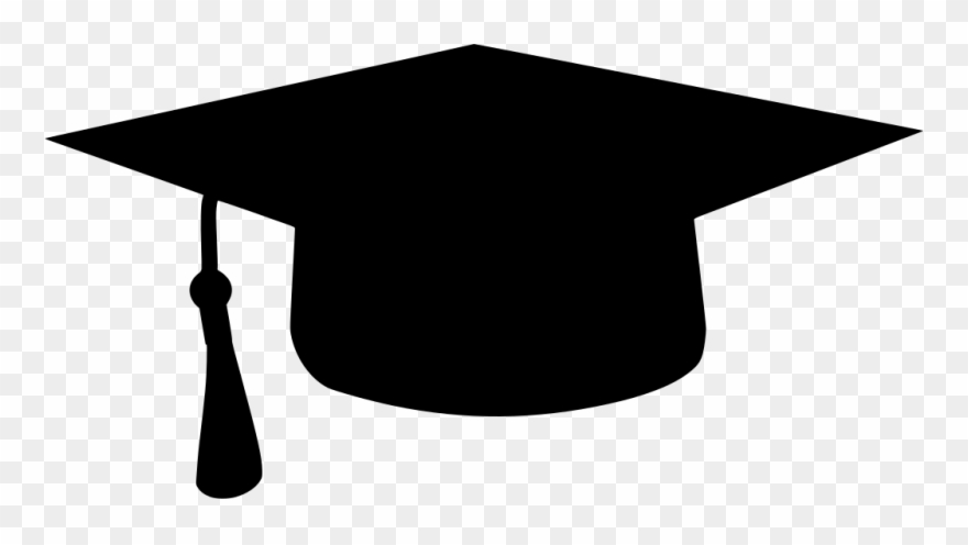 Graduation caps pictures clipart black and white library Download Png - Transparent Clipart Graduation Cap (#3614718 ... black and white library
