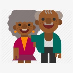 Black grandma clipart clip art freeuse download Courtesy Clipart Grandma Granddaughter - Black Old Man Cartoon ... clip art freeuse download