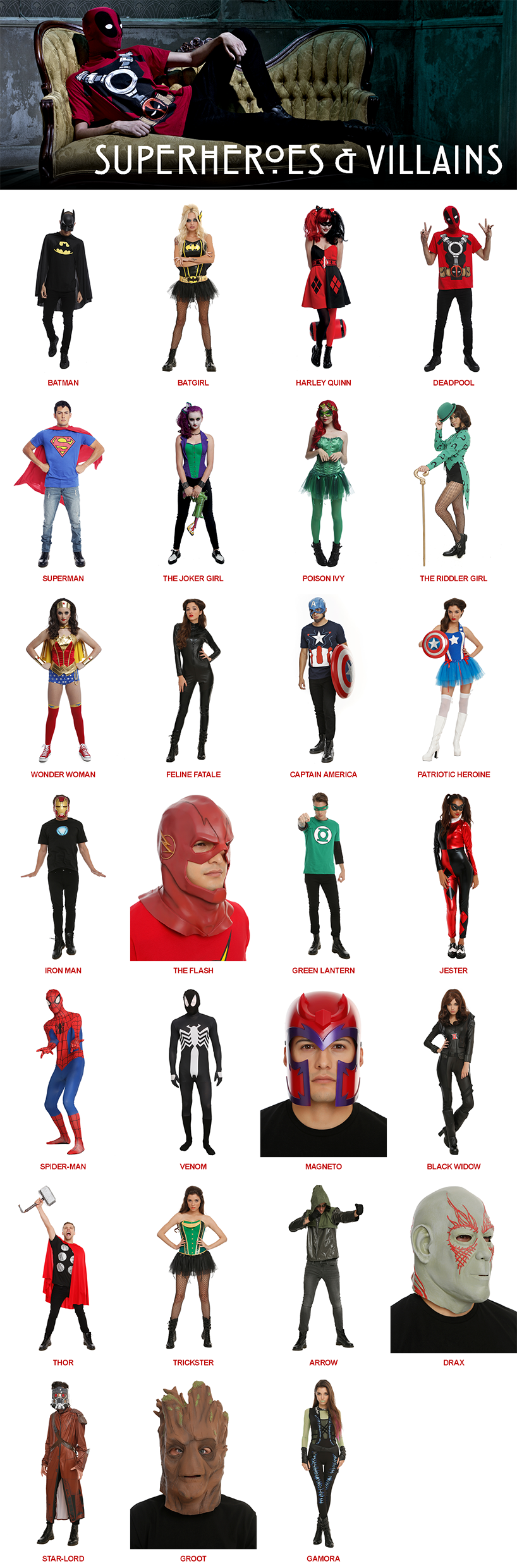 Superhero Halloween Costumes: Iron Man, Wonder Woman | Hot Topic ... svg freeuse library