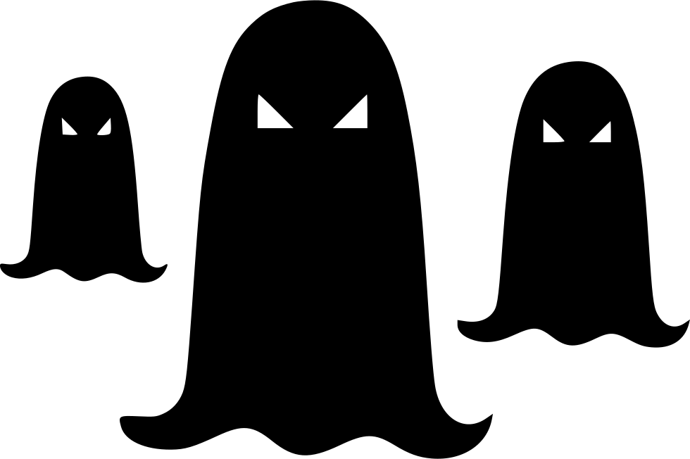 Halloween Black Ghost Halloween Ghost Group Ghost Svg Png Icon Free ... svg transparent