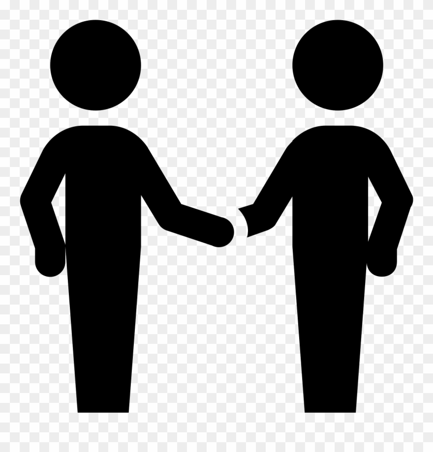 Black hand holding people clipart banner stock People Shaking Hands Icon Clipart (#2397818) - PinClipart banner stock