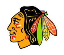 Black hawks clipart picture black and white stock Free Blackhawks Logo Cliparts, Download Free Clip Art, Free Clip Art ... picture black and white stock
