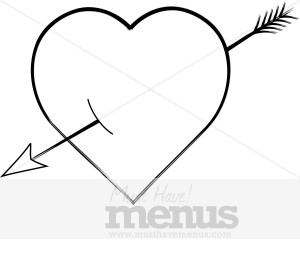 Black heart arrow clipart graphic library download Black Heart Clip Art and Menu Graphics - MustHaveMenus( 28 found ) graphic library download