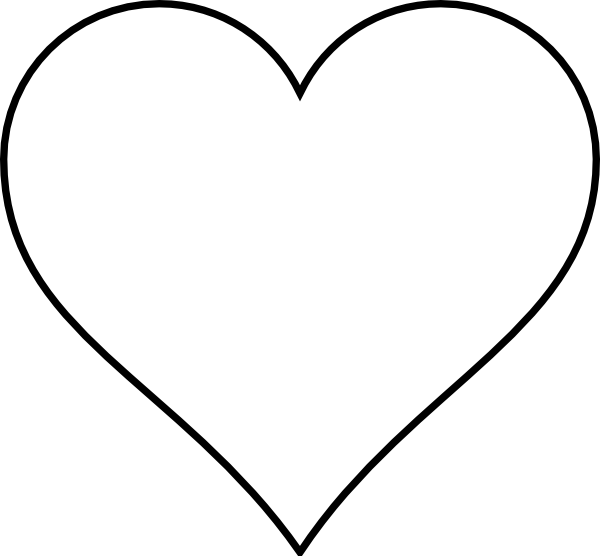 Black Heart Outlines | Clipart Panda - Free Clipart Images clip royalty free stock